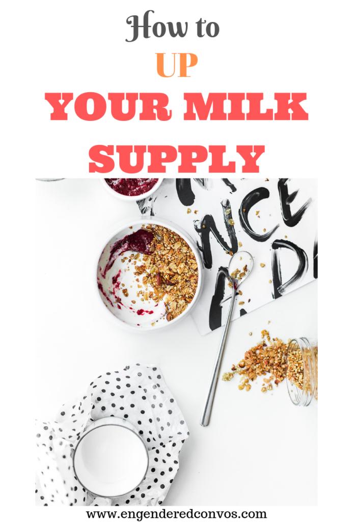 food to increase breastmilk supply