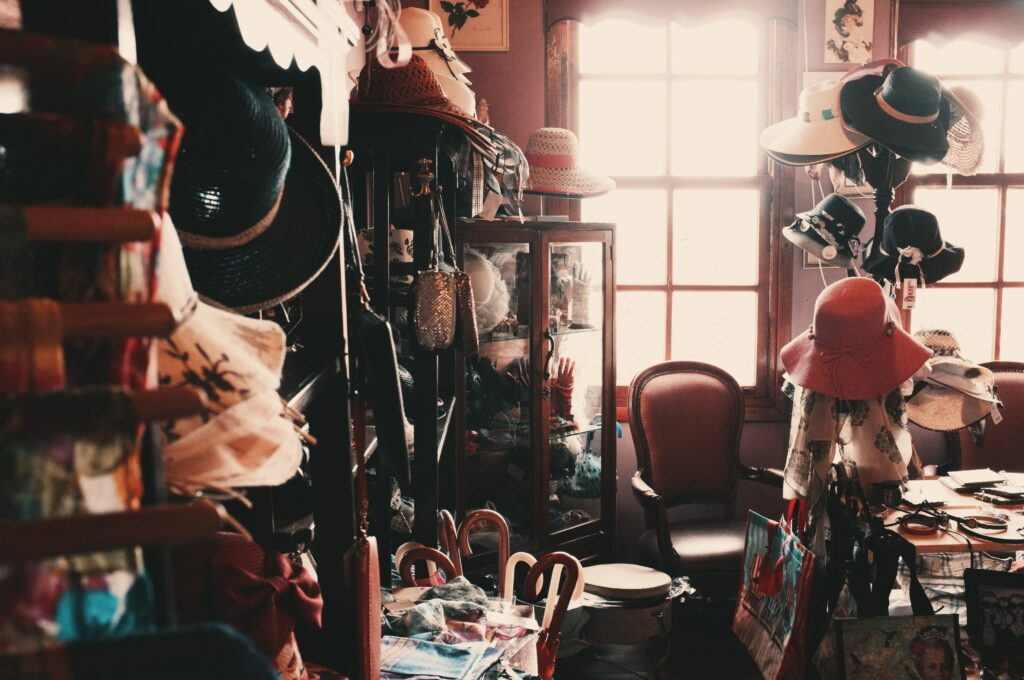 imperfect messy room
