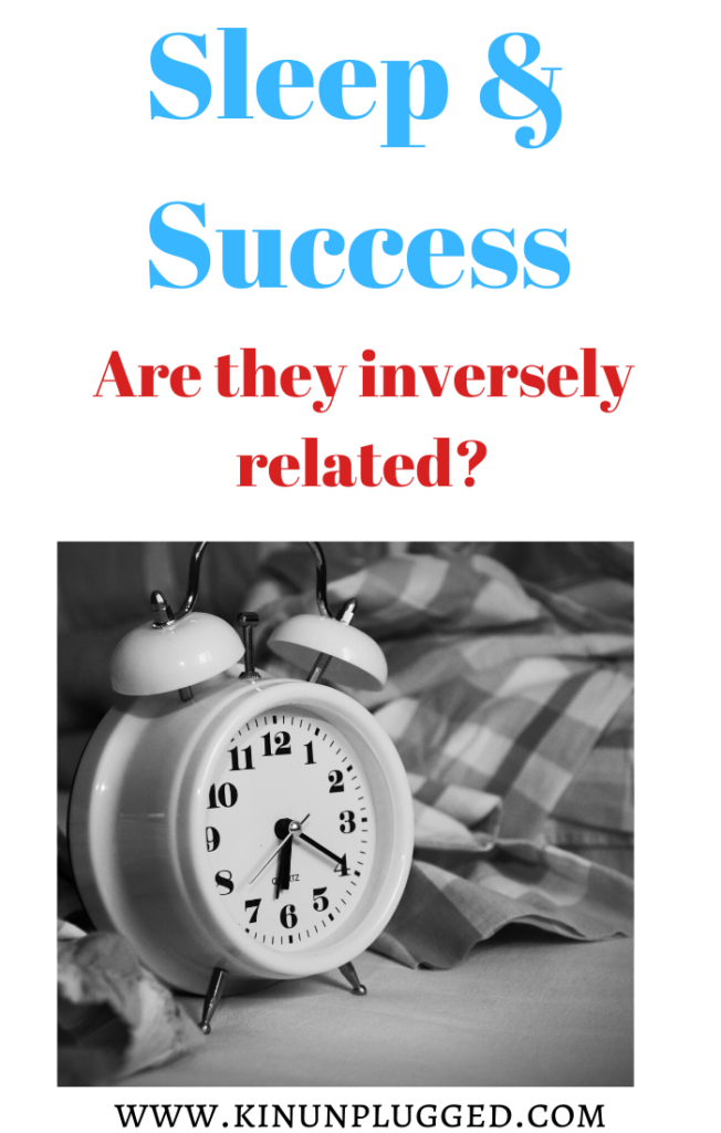 pin for sleep and success