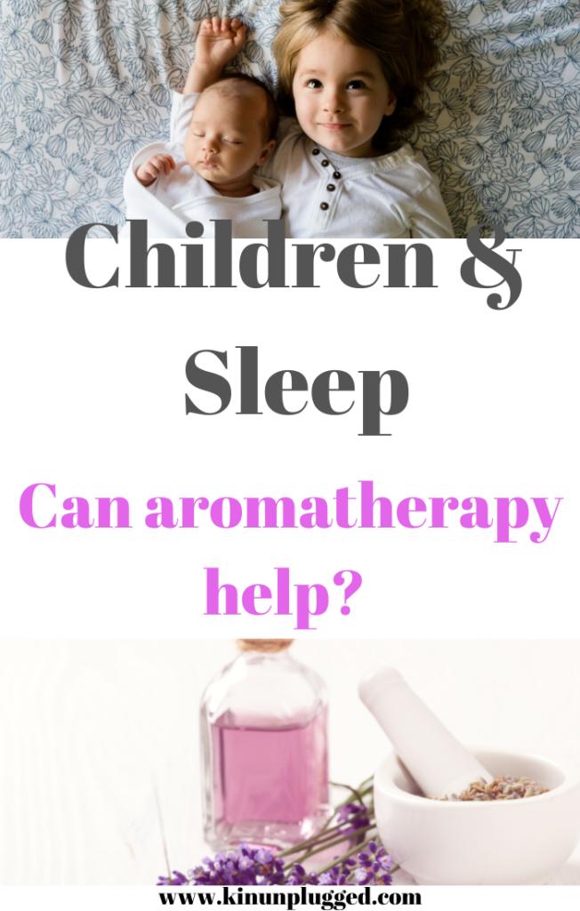 children sleep aromatherapy