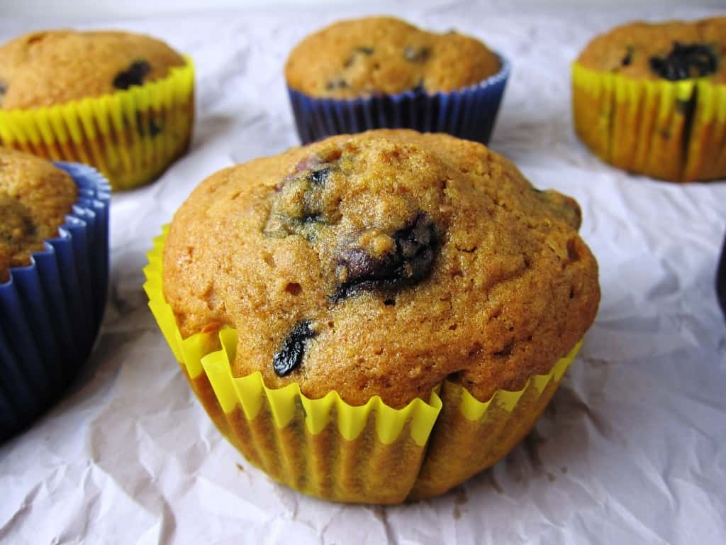 blueberry muffin quick and easy for toddlers