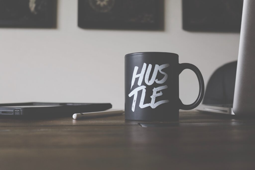 being a momentrepreneur means hustle