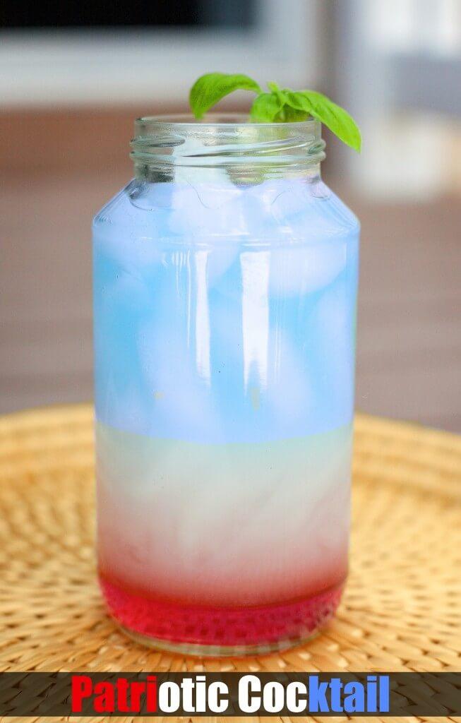 memorial day non-alcoholic cocktail