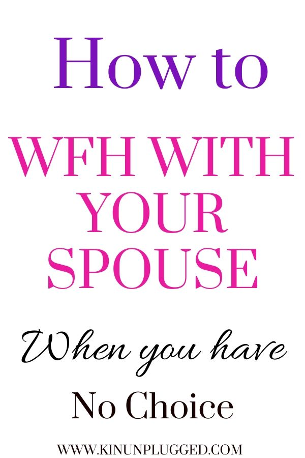 wfh with your spouse