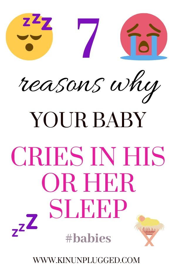 pin for baby crying in sleep