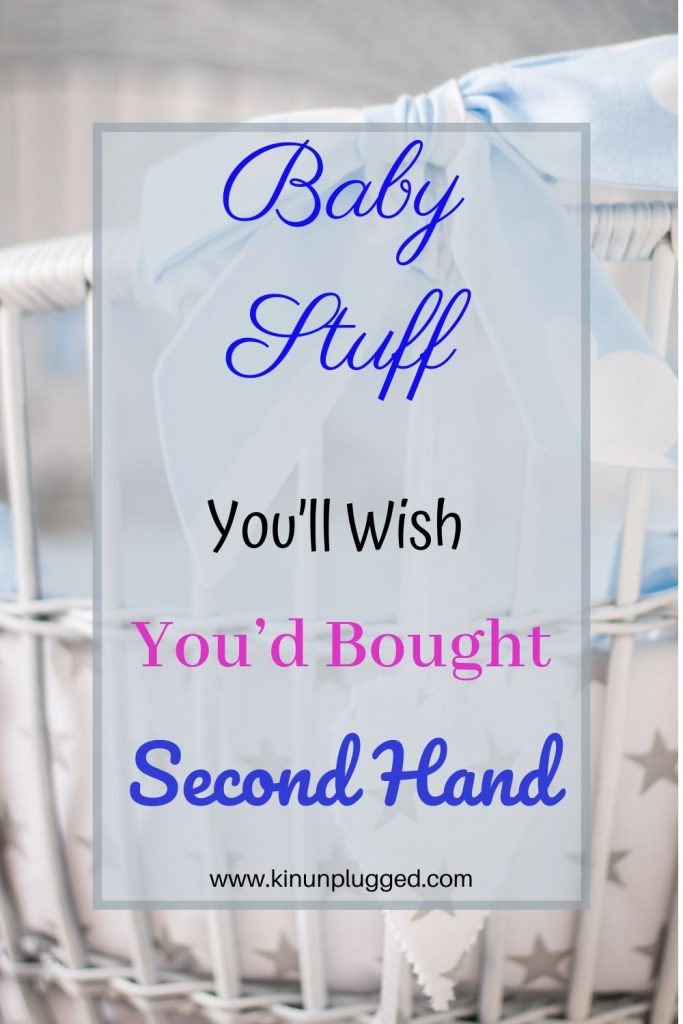 pin second hand baby items
